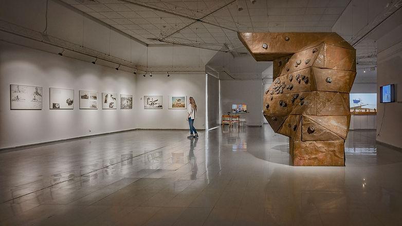 תערוכה יובל למצפור ערד צילום אלד מנוחין.