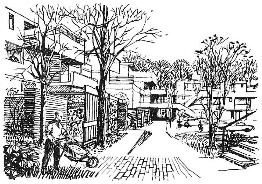 בינוי עירוני צפוף וקומפקטי, The Planning