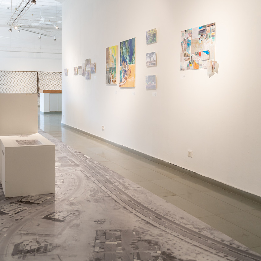 """שיח גלריה בתערוכה """"ערד קו מרחב"""""""