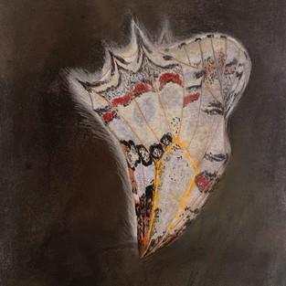טליה קינן, כף פרפר, שער, גירים צבעוניים על נייר, 2020.jpg