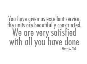Testimonial for Central Kitchens - Mavis and Dick