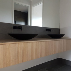 Bathroom Vanity Bendigo Black