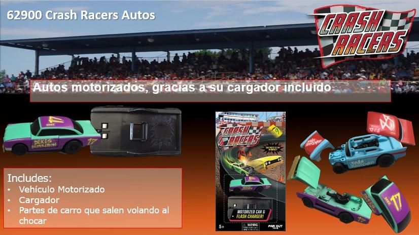Crash Racers Vehiculo con Cargador
