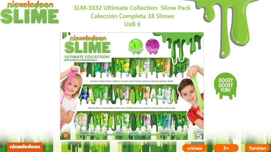 SLM 3332 Ultimate Collection Slime Pack