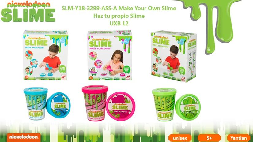 SLM Y18-3299 Make your Own Slime