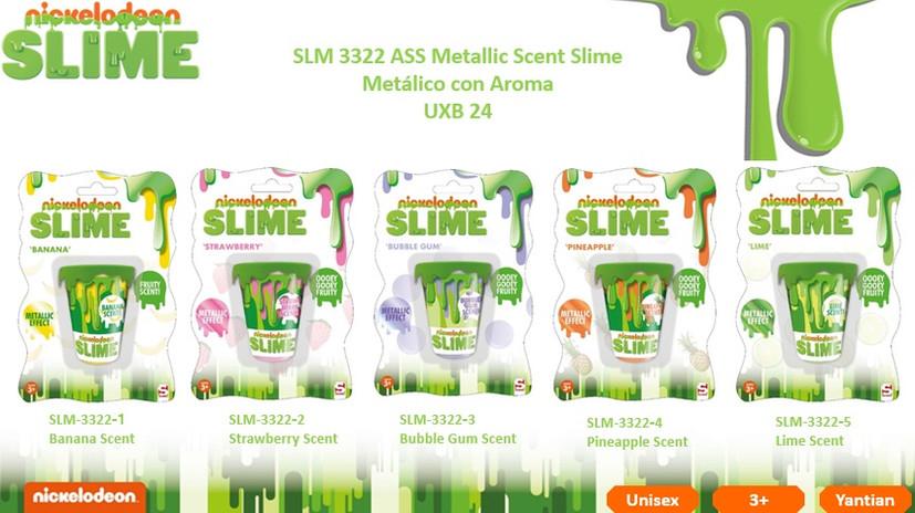 SLM 3322 Slime Metallic Scent