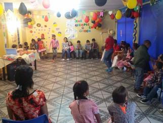 Festa julina anima criançada