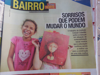 Matéria sobre o ICC no jornal A Cidade!