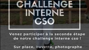 Seconde étape du concours interne de CSO !
