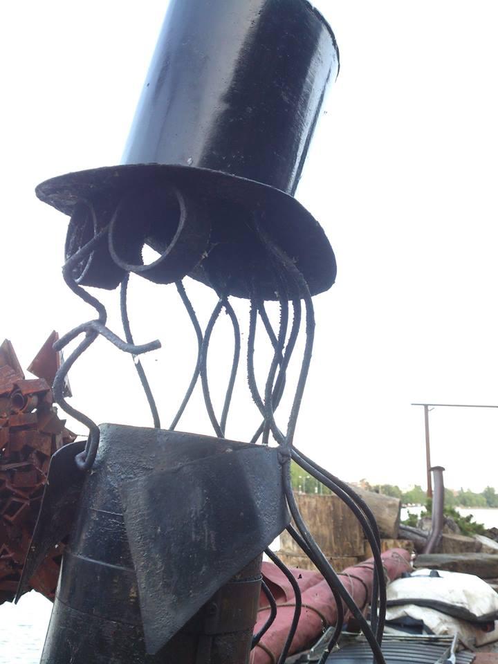 Top Hatted Gentleman Chimney Cowl