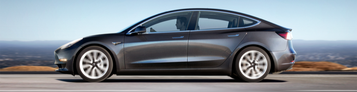 Tesla Model 3 Electric Vehicle