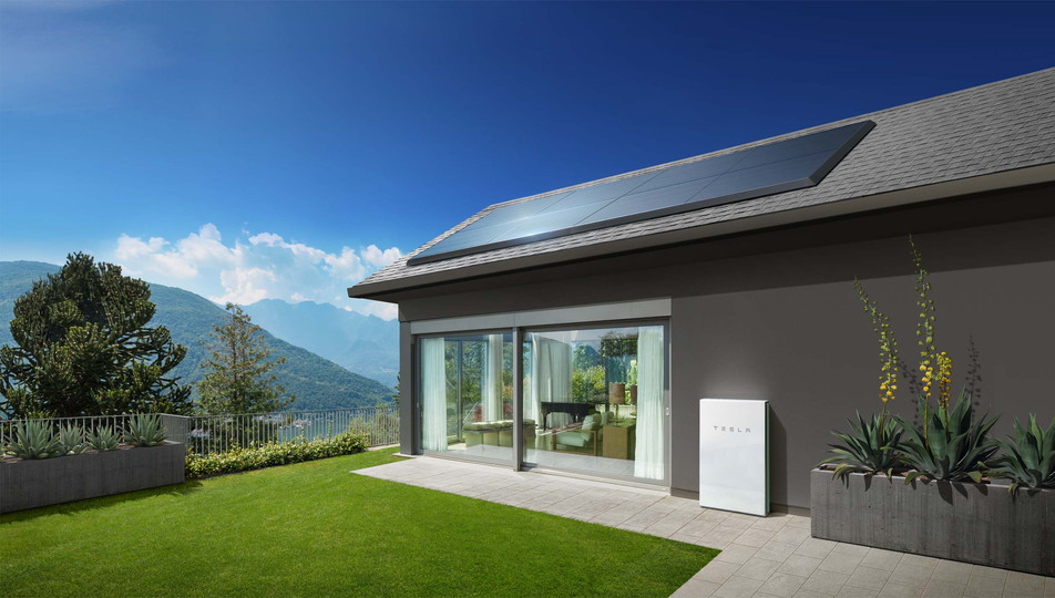 Tesla Powerwall Paired with Solar
