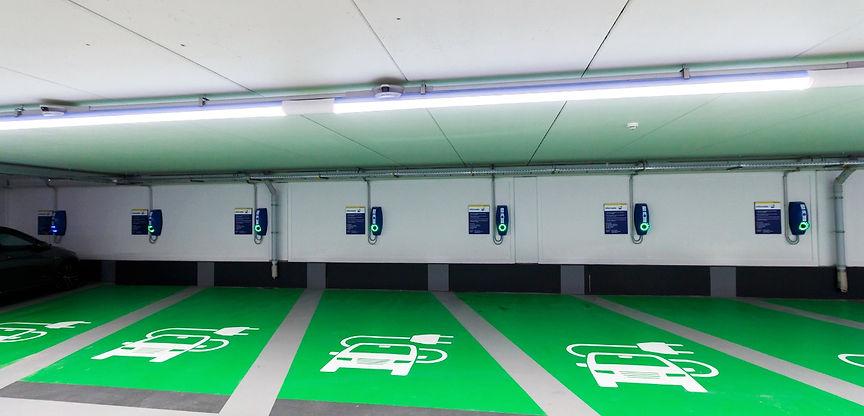 EVBox BusinessLines carpark EV charging