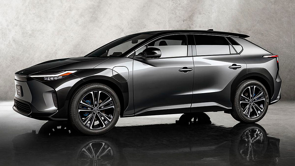 Toyota BZ4X Concept Electric Vehicle