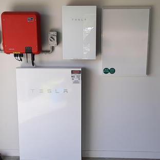 SMA Inverter & Tesla Powerwall 2