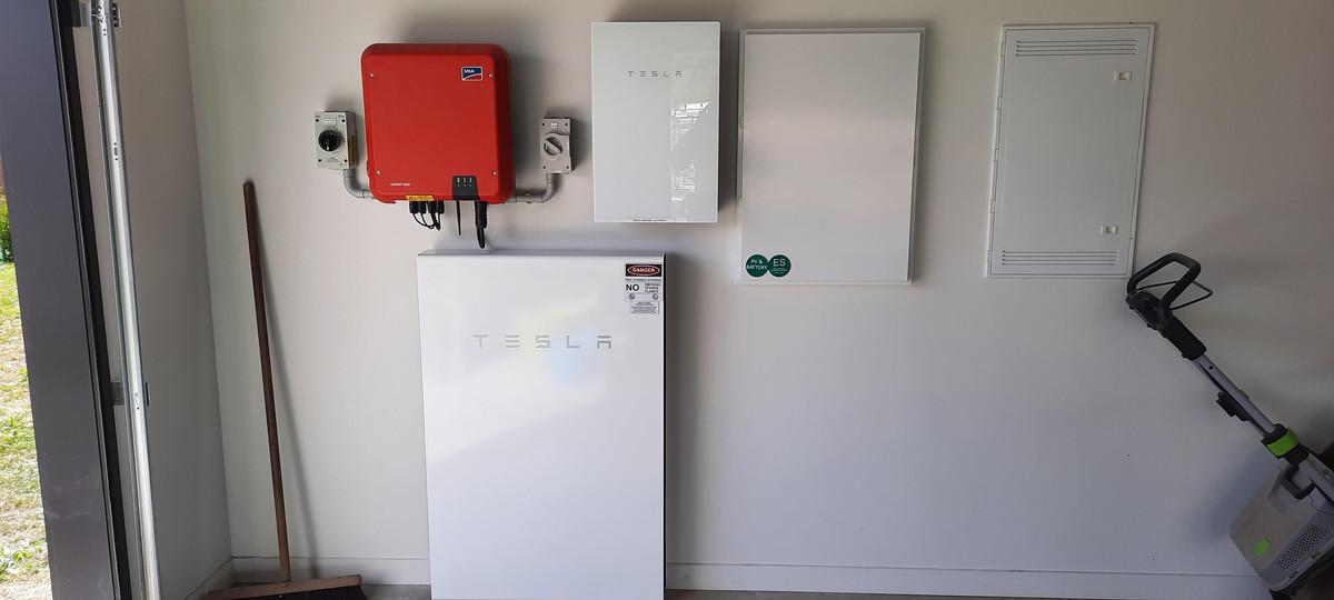 Tesla Powerwall and Solar Install NZ ChargeSmart