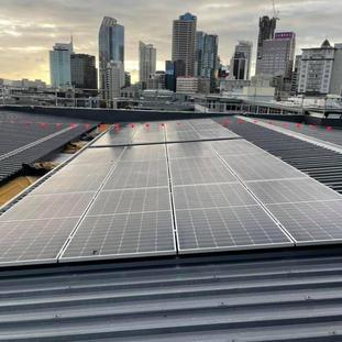Fanshawe Street, Auckland Commercial Solar