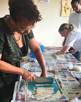 Udon noodle maken workshop