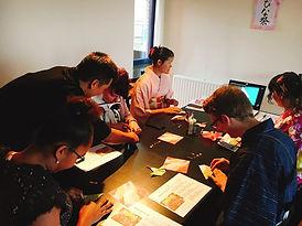 Orimgami workshop