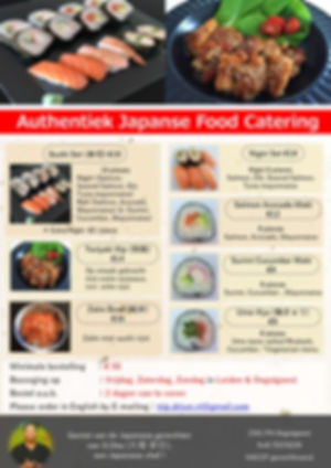 Japanese Food,Catering,Japanse eten,Japan,Japanse