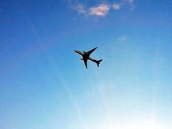 スキポール空港 飛行機