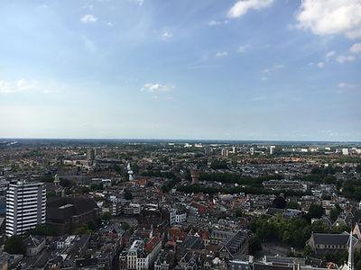 ドムタワー頂上からの景色