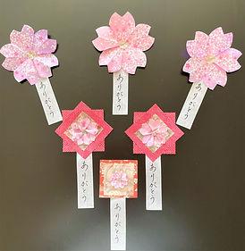 Origami craftwork