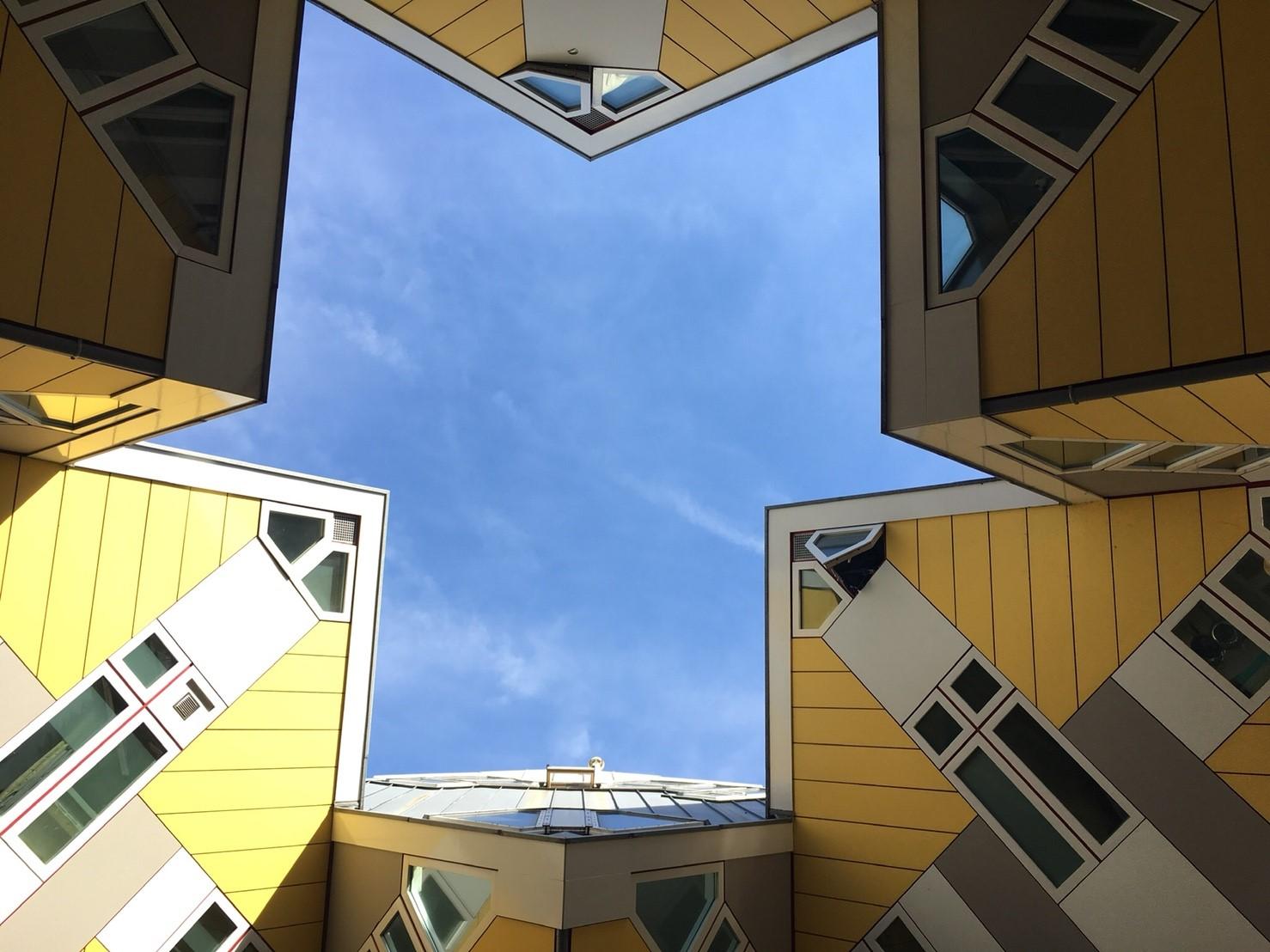 ロッテルダム キュービックハウス