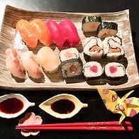 Authentieke Japanse sushi.s