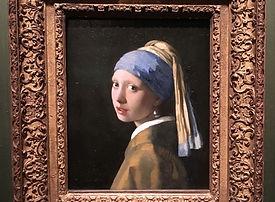 デンハーグ マウリッツハイス 真珠の耳飾りの少女 フェルメール作