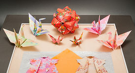 Origami craft artworks