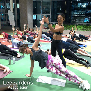 IRIS ✕ Lee Gardens Association