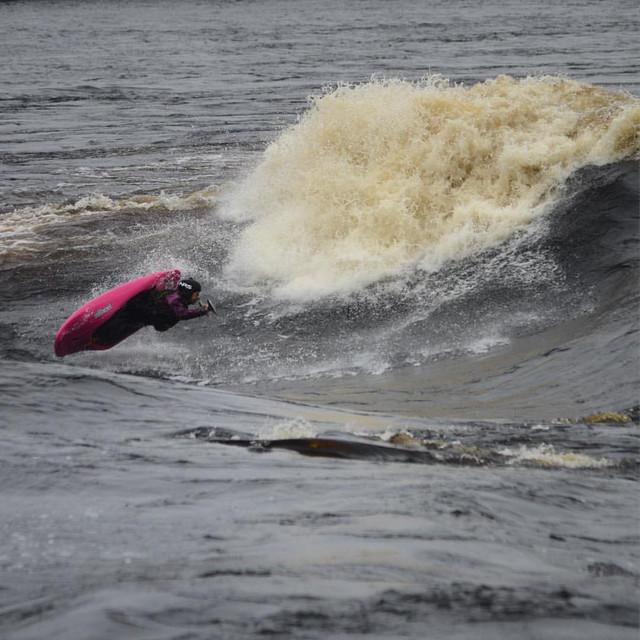 Molly Wave, Mistassibi River, Quebec