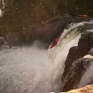 Honeypot Falls, Valin River, Quebec