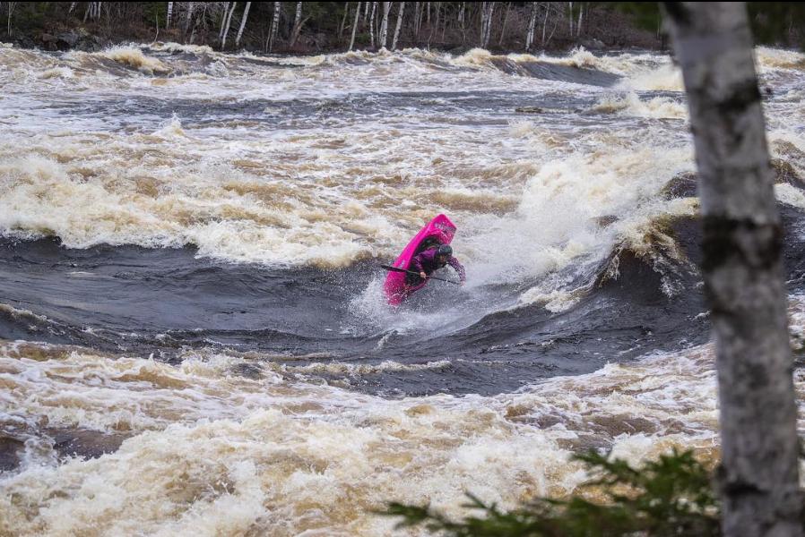 Brooke's biggest passion- big wave frees