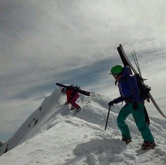 Summit of Mt. Hood, Oregon
