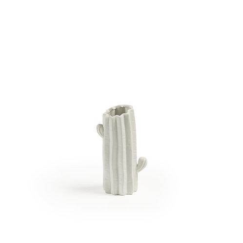 Jarrón Lode Cactus- Blanco
