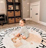 tapetes lavables, niños, decoración, infantil