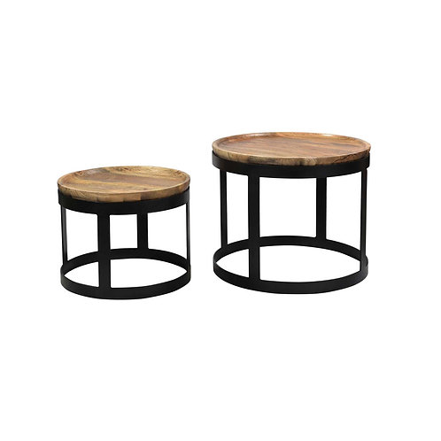 Set de mesas laterales Negan