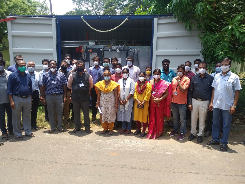 First Biomacon pyrolysis system in India