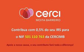 Consignação do IRS a favor da CERCIMB