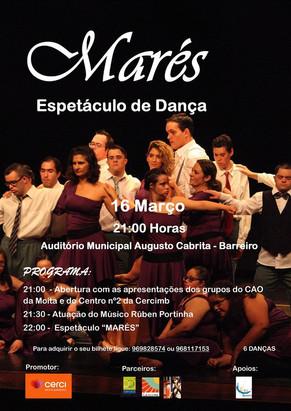 "Espetáculo de Dança ""Marés"" - AMAC - 16 de Março 2018"