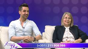 """Presença da CERCIMB no programa """"Manhãs na TV"""" do Canal Kuriakos TV - 10 Abril 2017"""