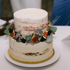 Hochzeitstorte Naked Cake Feige