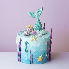 Meerjungfrau-Torte