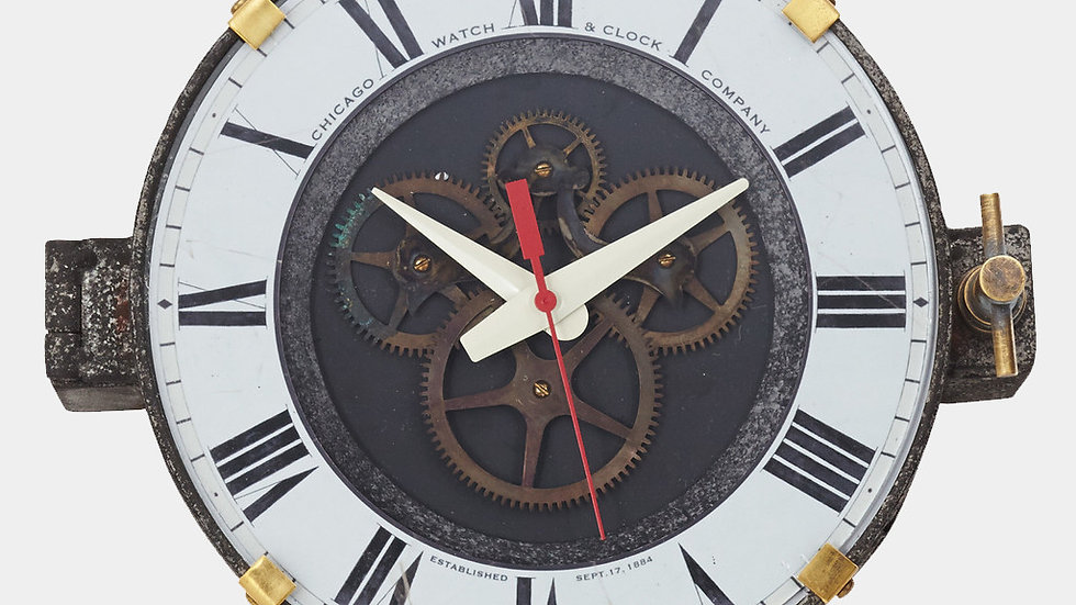 Control Room Wall Clock by Pendulux