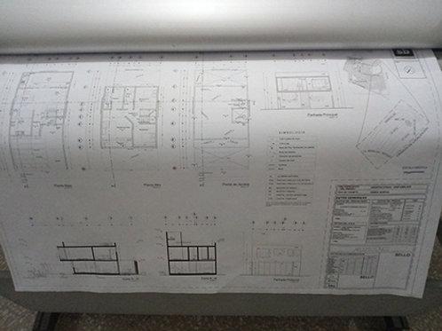 Plano 40x60cm  Monocromatico