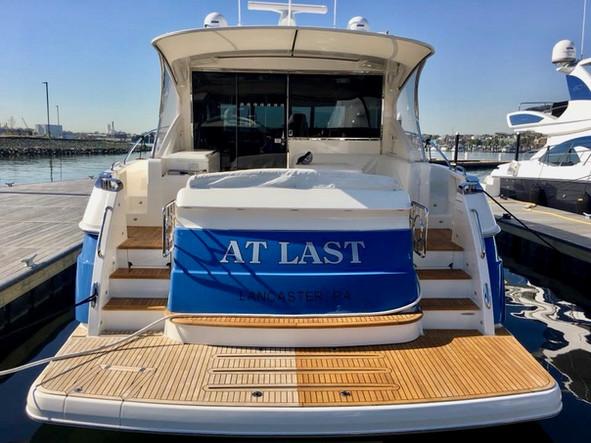 boat teak deck installation