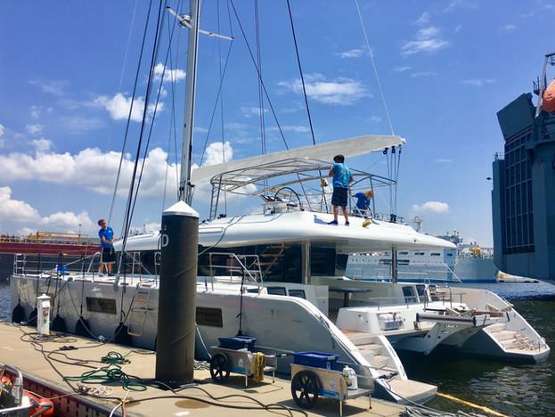 sailboat detailing