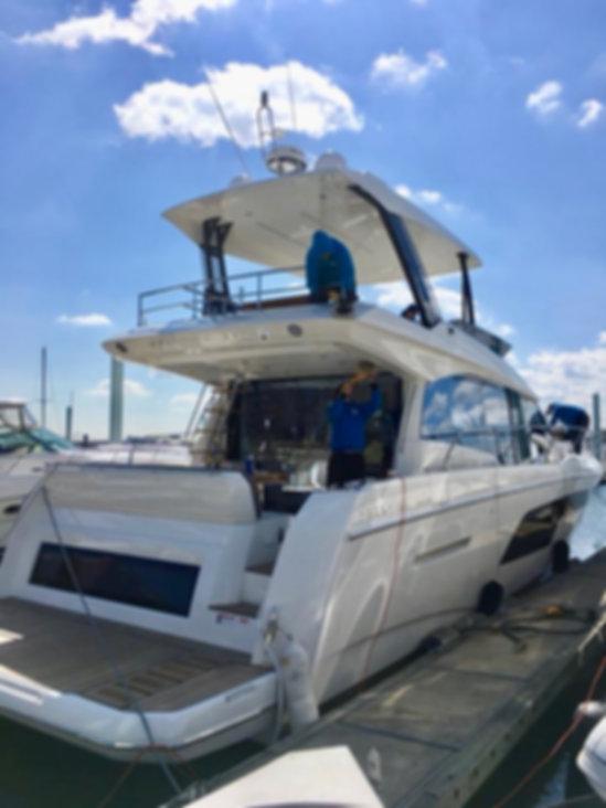 boat waxing annapolis
